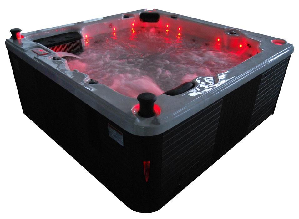 ex display canadian spa thunderbay 6 person hot tub twin pump 2yr warranty ebay. Black Bedroom Furniture Sets. Home Design Ideas