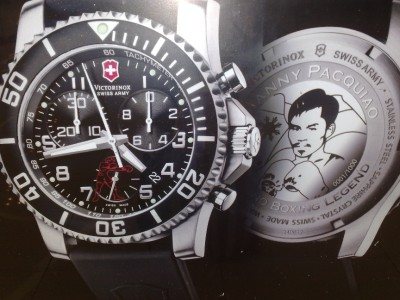 Pacquiao wrist watch