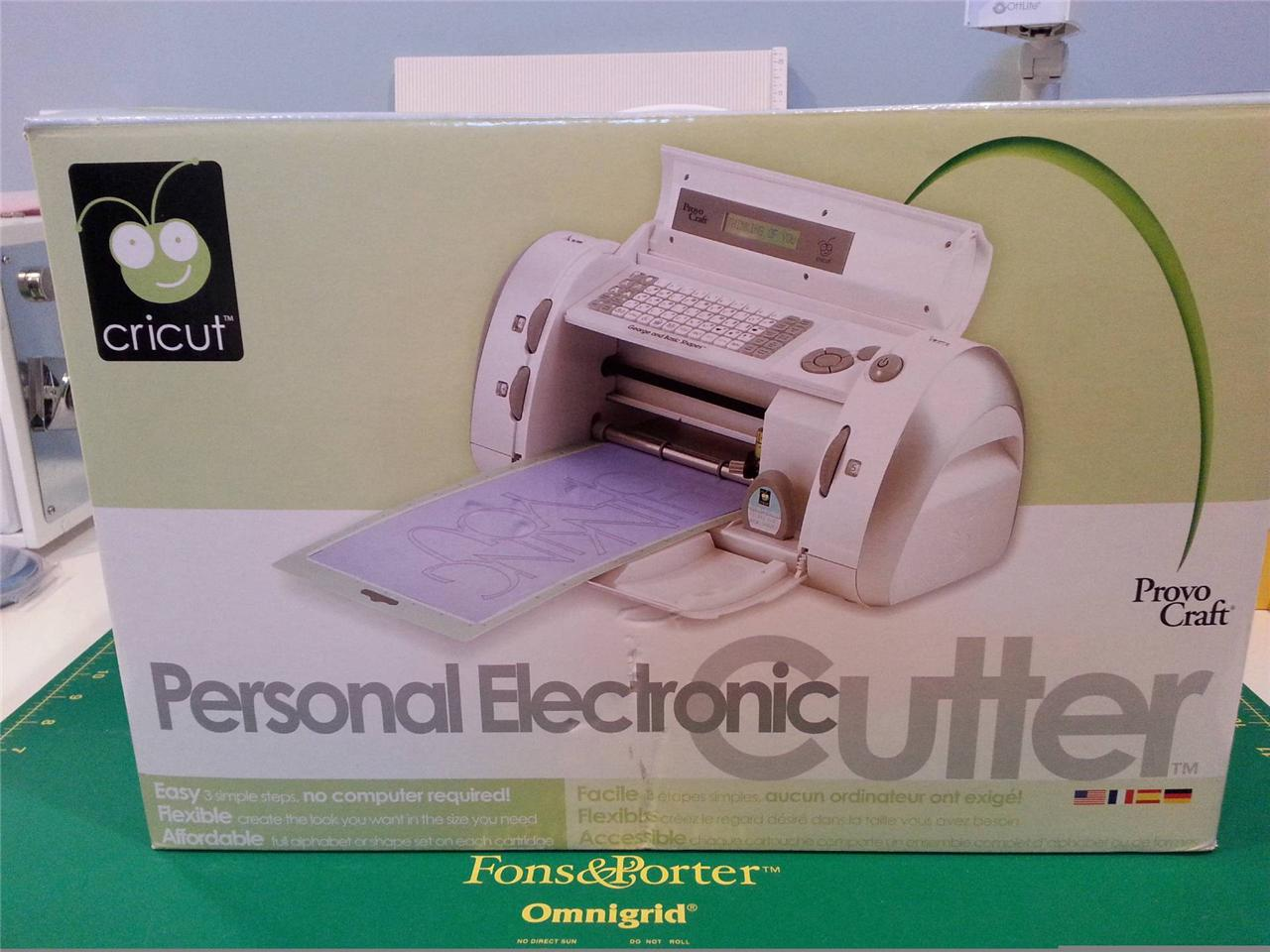 Cricut expression personal electronic cutting machine for Craft die cutting machine