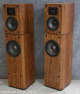 Vintage bic speakers criticising