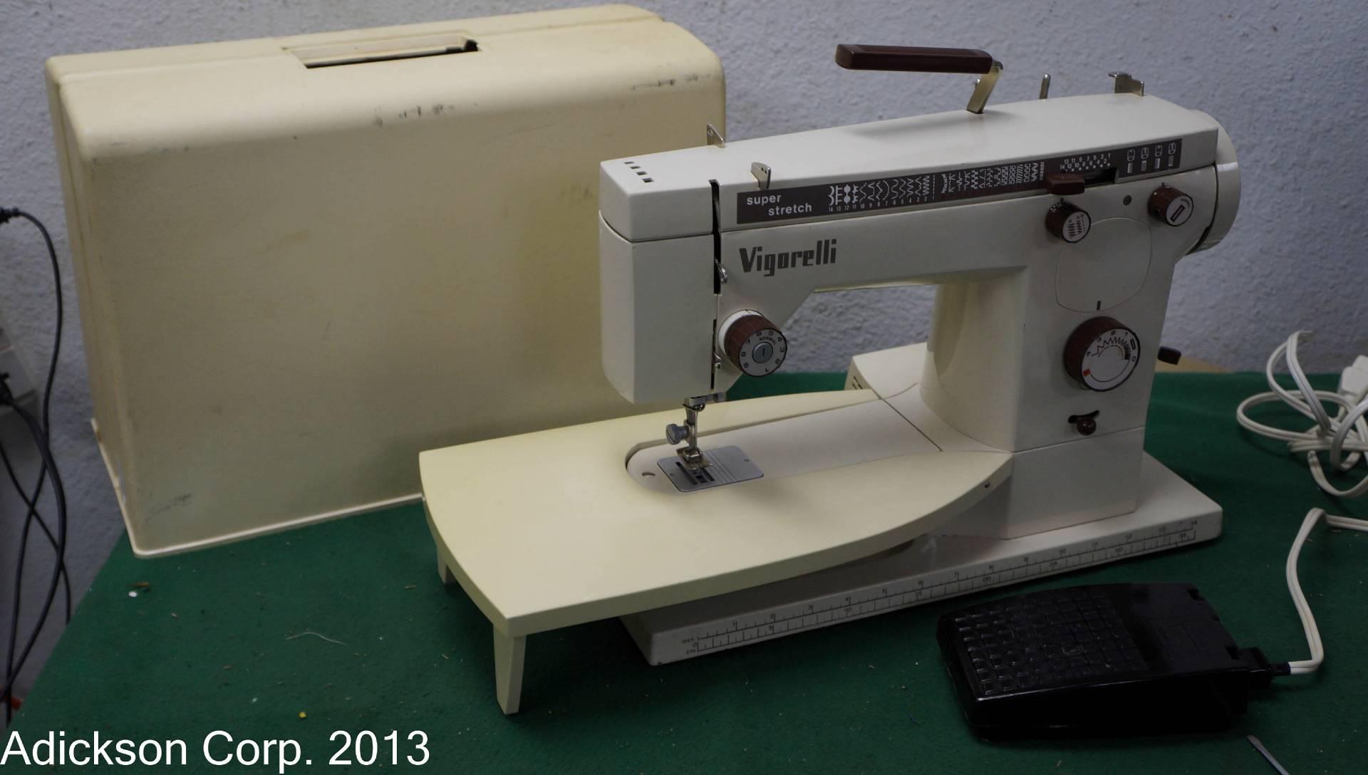 vigorelli sewing machine