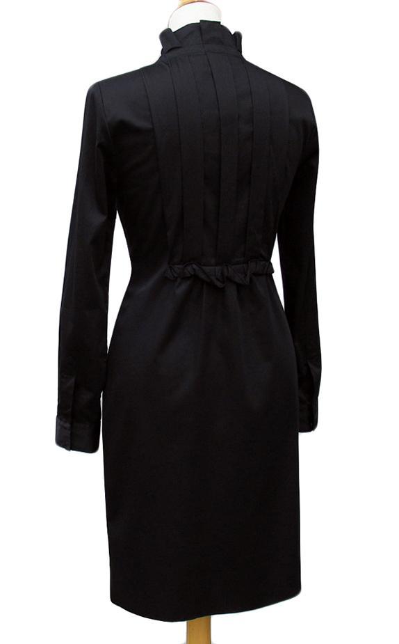 Saturday Morning Snow In Madison >> Elie Tahari • Black Stretch Sateen KLOE Dress • NWT • Size 10 US / 14 UK / 42 EU   eBay