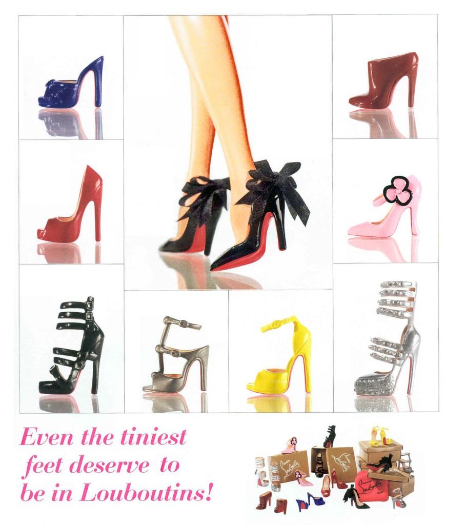 Как сделать барби руками обувь в домашних условиях