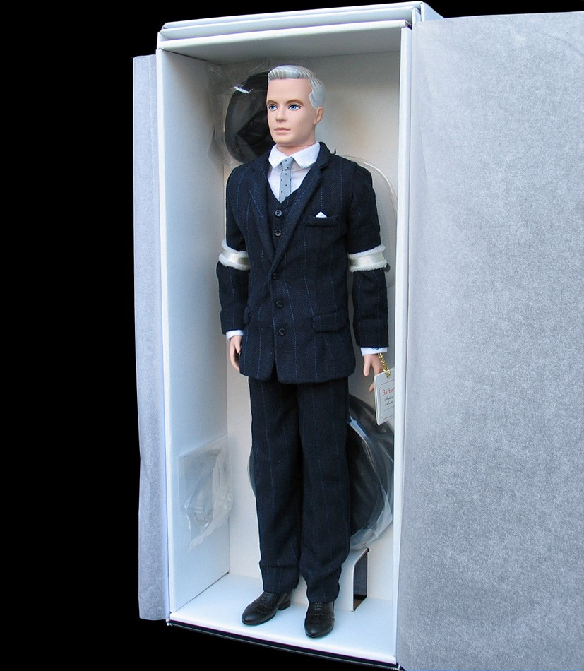 Details about barbie collector 2010 roger sterling fan club exclusive