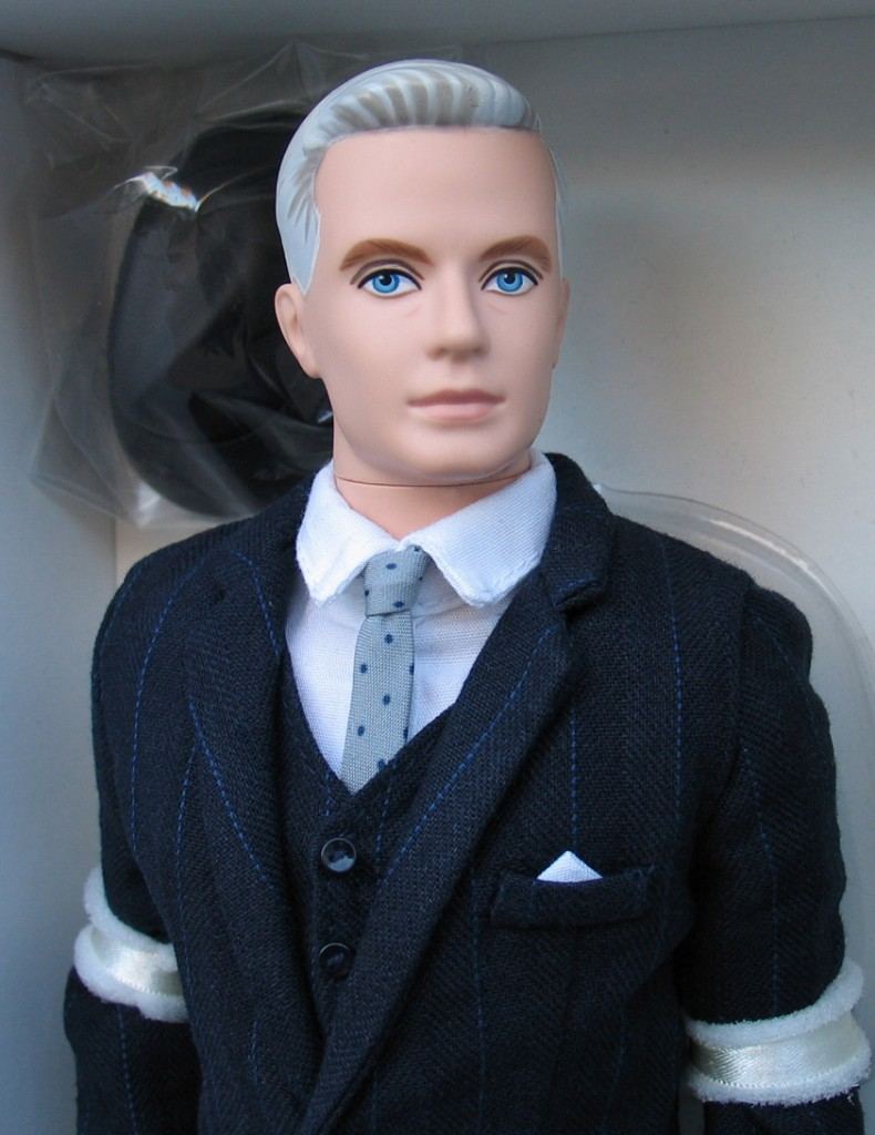 Details about Barbie Collector 2010 ROGER STERLING Fan Club Exclusive ...