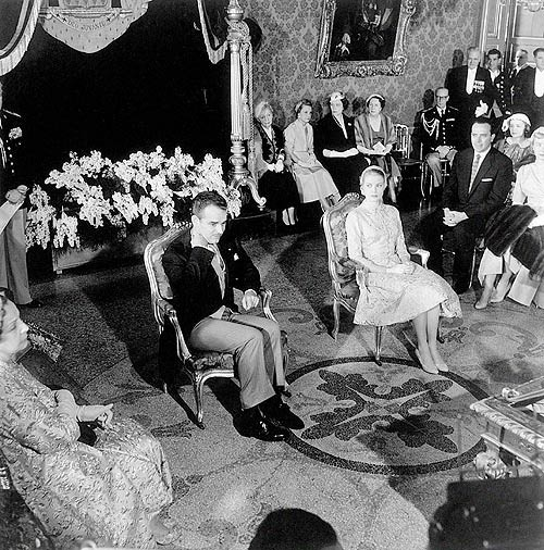 Wedding of the Century', on April 19, 1956, Grace and Prince Rainier