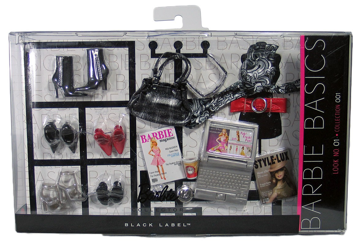 BARBIE BASICS Accessory Pack Look Collection No 1 01 001 1.0 • R9930