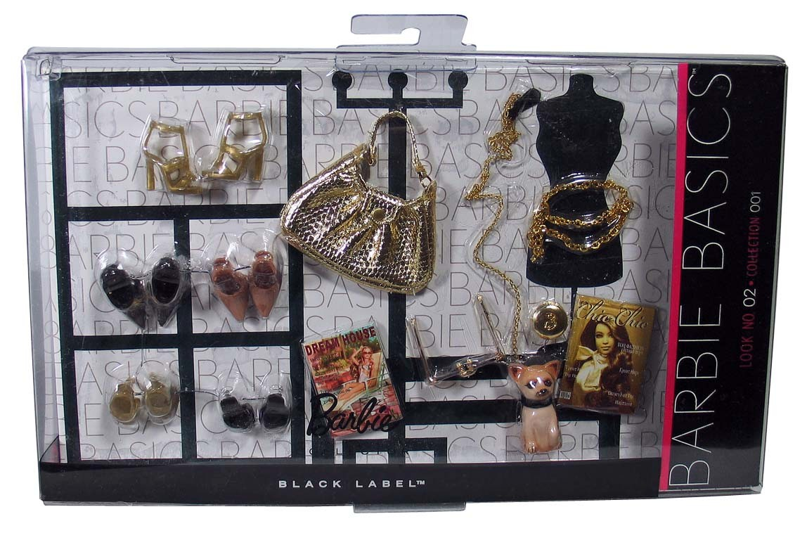 Barbie basics accessory pack look no 2 02 002 collection 01 1 0 01