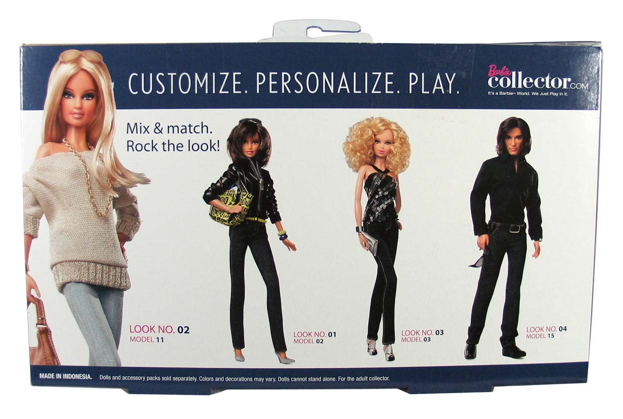 BARBIE BASICS Accessory Pack Look Collection No 2 02 002 2.0 • T7754