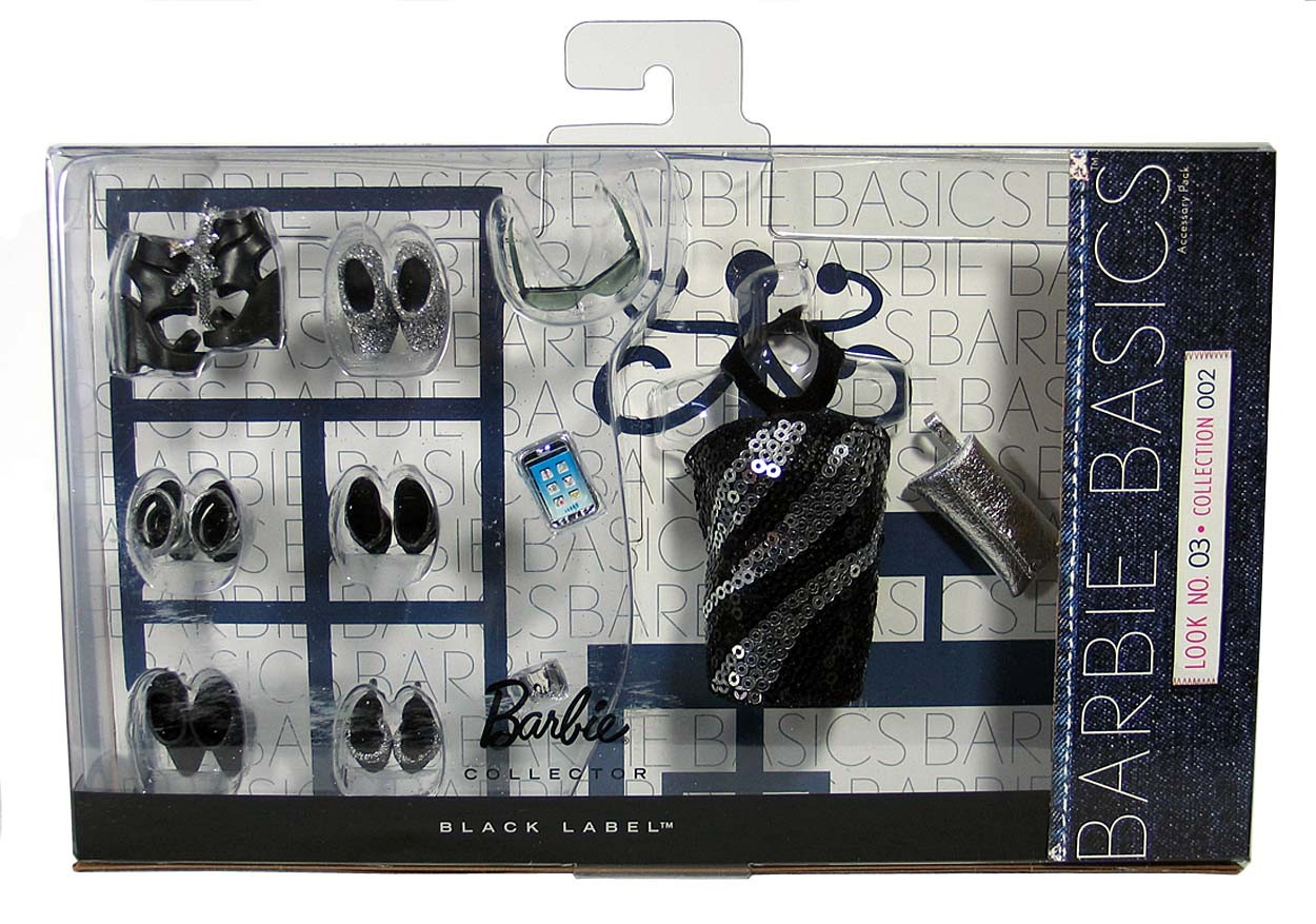 Barbie basics accessory pack look no 3 03 003 3 0 collection 2 02 002
