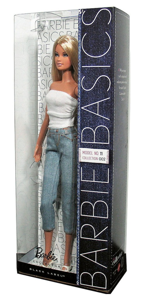 ... about BARBIE BASICS Doll Muse Model No 11 011 11.0 Collection
