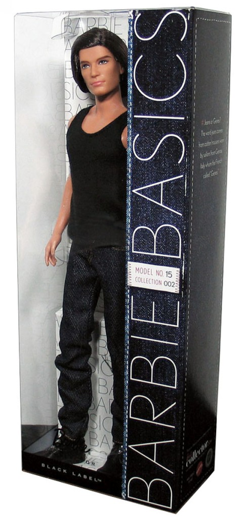 barbie basics ken doll muse model no 15 015 15 0