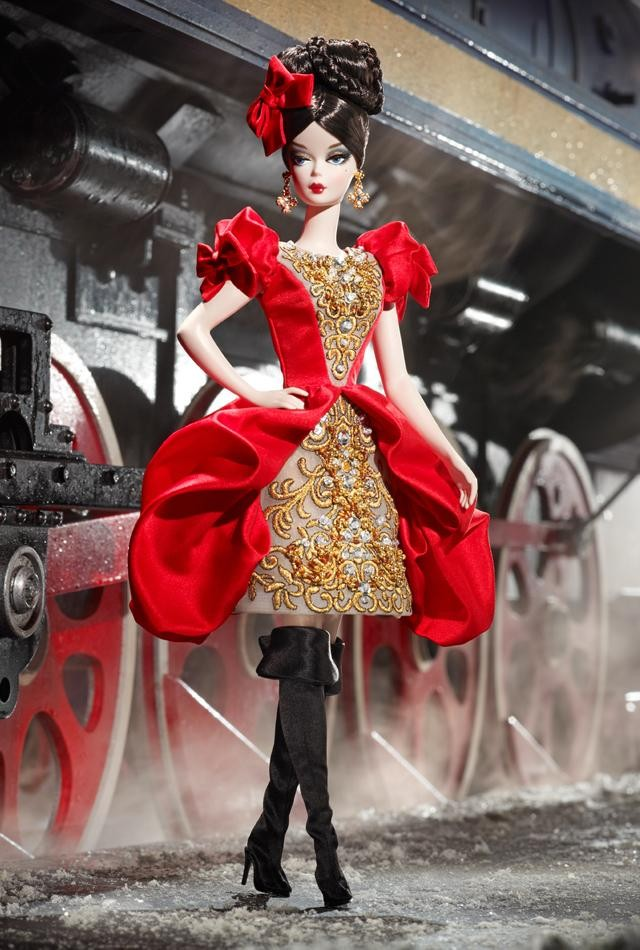 Details about 2011 barbie collector russian silkstone darya doll