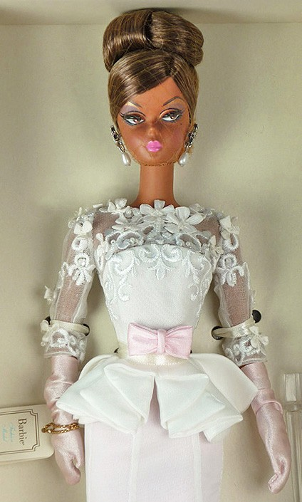 2012 Barbie Collector • BFMC Silkstone Atelier EVENING GOWN Doll • NRFB • W3426