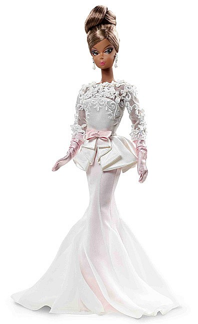 2012 Barbie Collector Bfmc Silkstone Atelier Evening