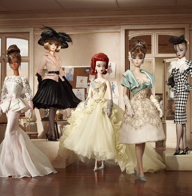 Details about 2012 Barbie Collector • BFMC Silkstone Atelier EVENING