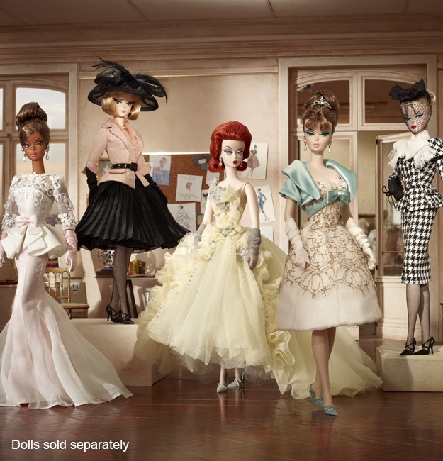 Details about 2012 Barbie Collector • BFMC Silkstone Atelier GALA