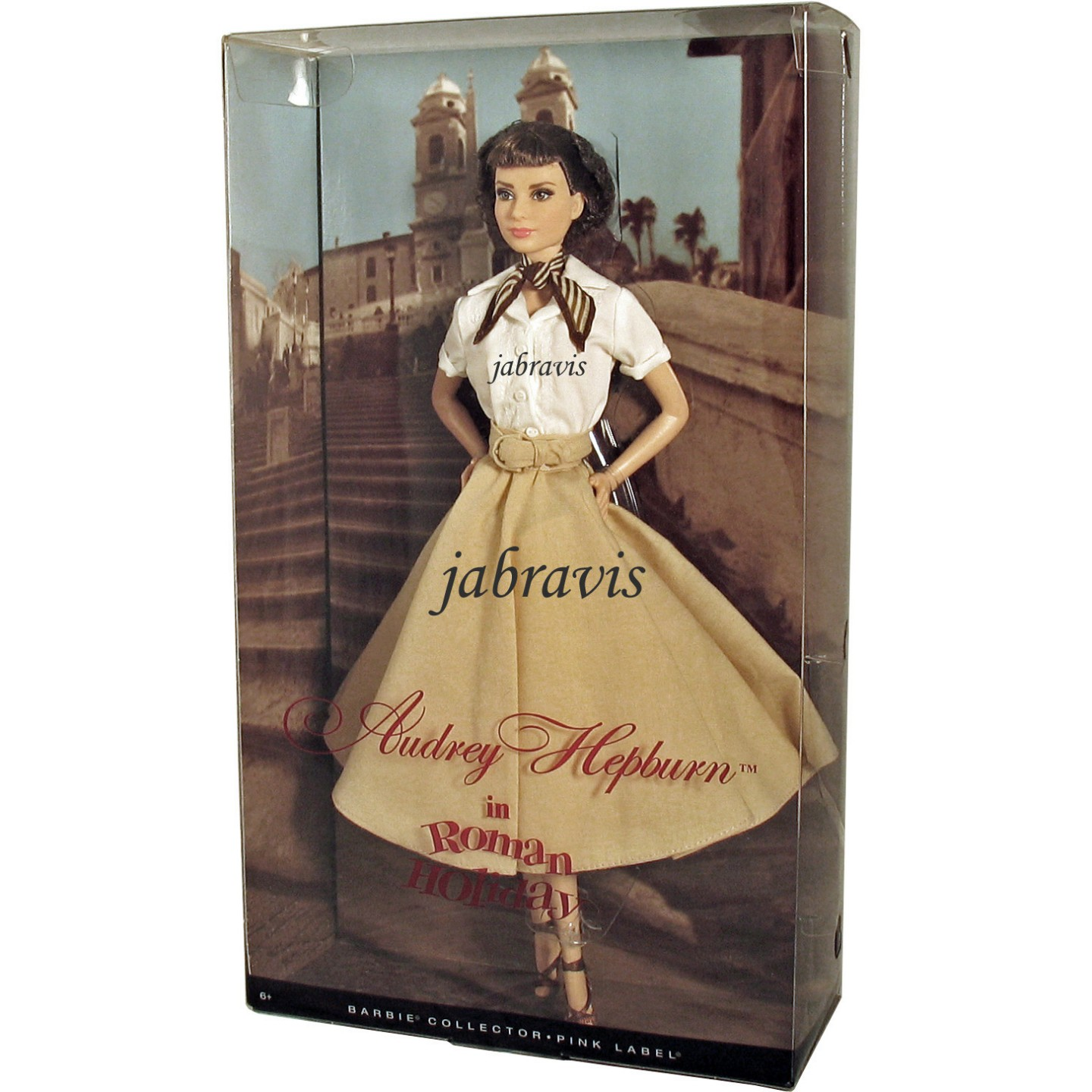 Barbie Collector 2013 Audrey Hepburn En Vacaciones