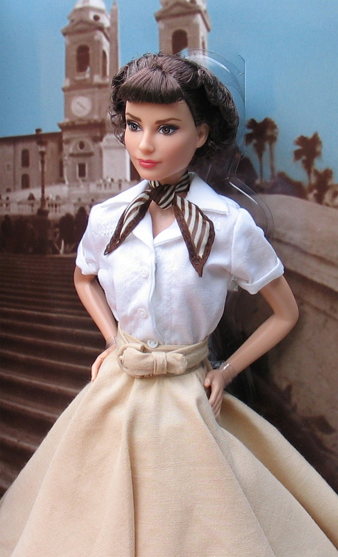 Barbie Collector 2013 Audrey Hepburn In Roman Holiday