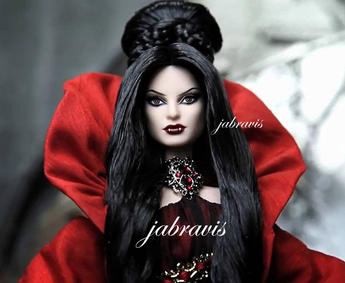 She's Haunted Beauty Vampire Barbie Doll , and she'll send chills