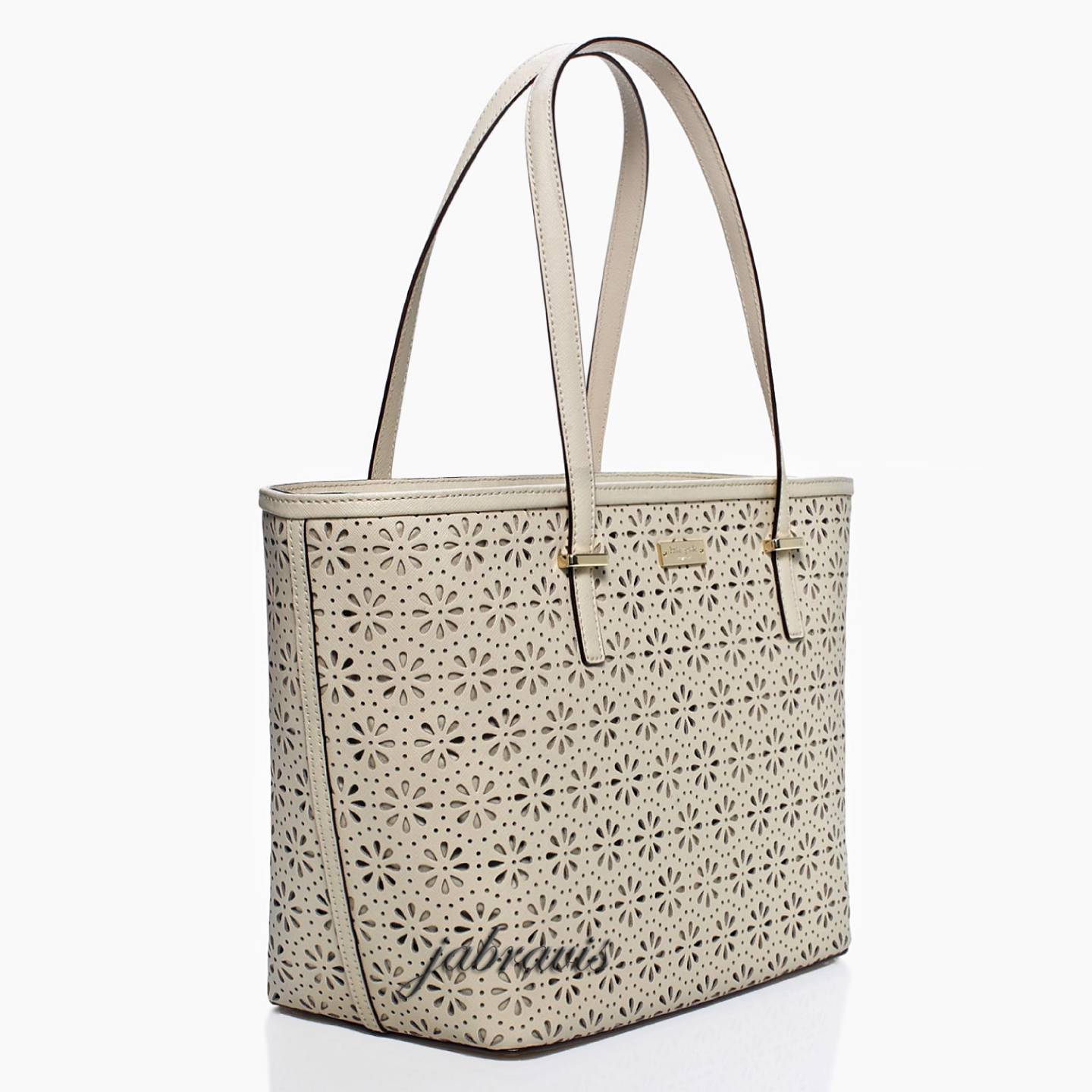 Kate Spade Crema De Vie Cream Cedar Street Perforated