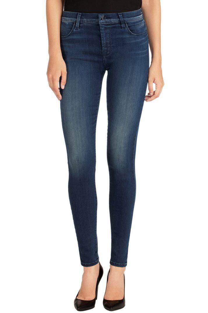 J Brand Jeans Stocking Maria High Rise Skinny Suspense