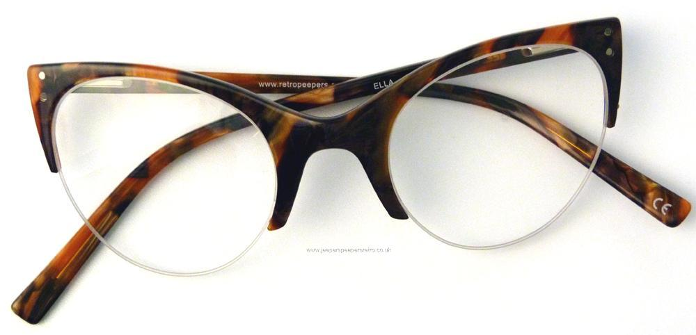 top quality cat eye half frame glasses ella earth framereaders sun