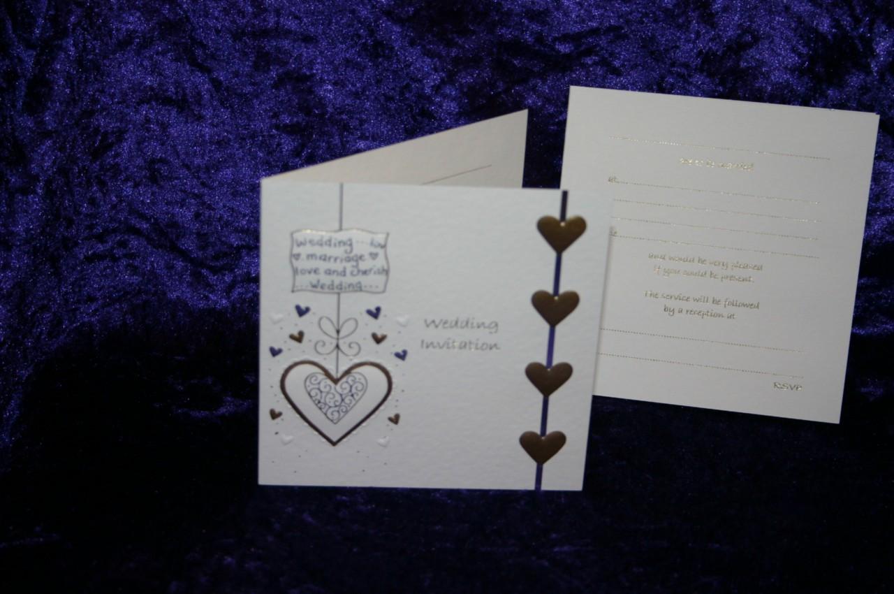 Luxury wedding invitations pack 10 or 12 silver gold white cream luxury wedding invitations pack 10 or 12 silver monicamarmolfo Gallery