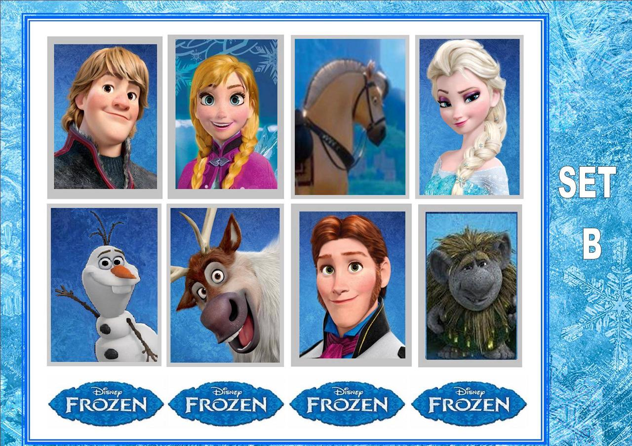 frozen disney film x14 temporary kids tattoos waterproof