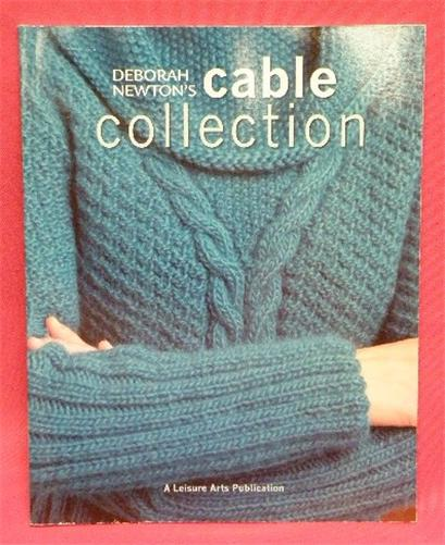 Leisure Arts Knitting Pattern Books : Leisure Arts 4815 CABLE COLLECTION by Deborah Newton Knitting Pattern Book ...