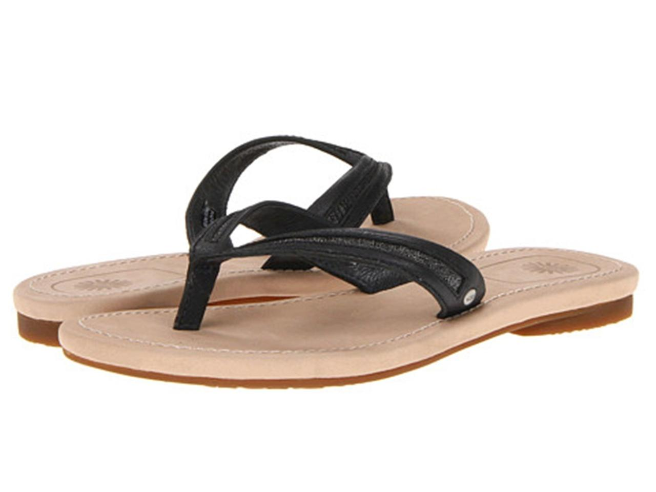 Shop for womens sandals & flip flops at Shop Parenting. We have amazing deals on womens sandals & flip flops from all around the web. For US conversions, please reference size chart. Made in Italy Color/material: black an d white fabric with black leather Adjustable ankle strap with buckle closure Lightly padded Clarks Clarks.