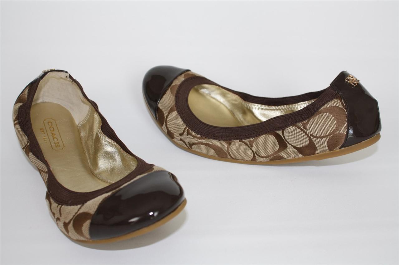 Coach Flat Shoes For Women