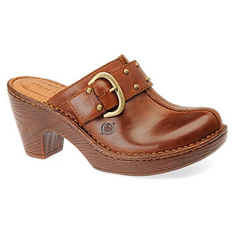 womens shoes born platform clogs mules heels rust