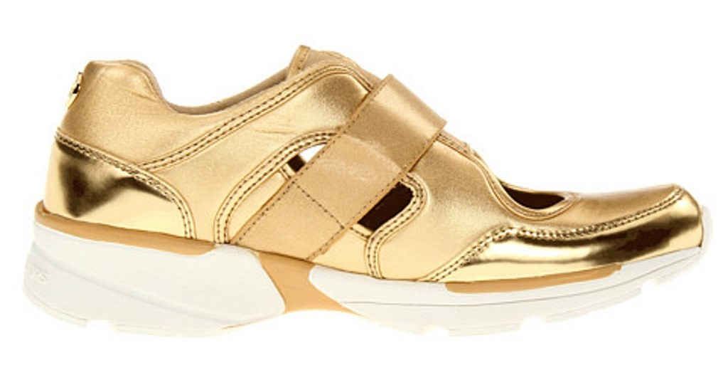 womens shoes michael by michael kors walker cut out sneaker gold ebay. Black Bedroom Furniture Sets. Home Design Ideas
