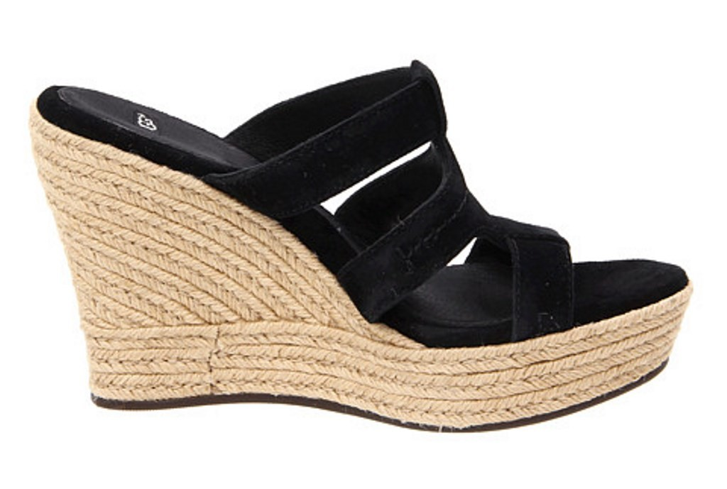 womens shoes ugg tawnie espadrille platform wedge sandals