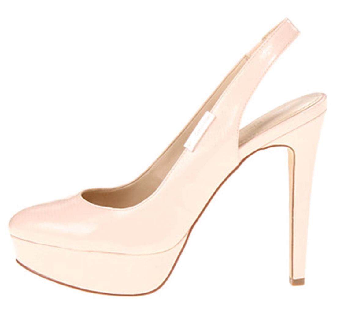 womens shoes calvin klein gracen platform slingback heels