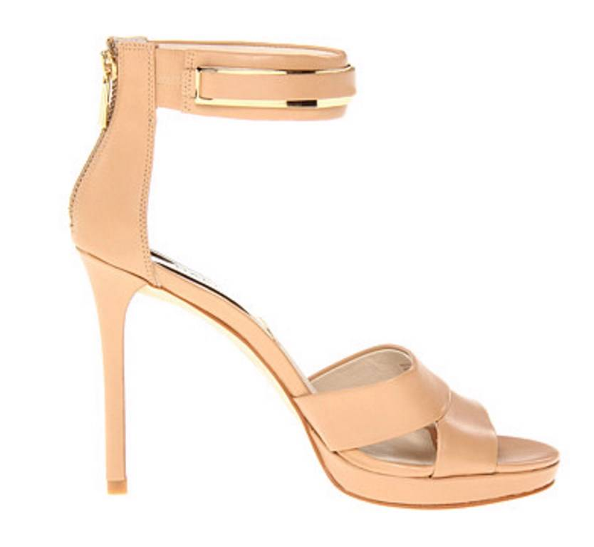Michael Kors Flex Low Pump Womens Nude Kitten Heels Shoes Size UK