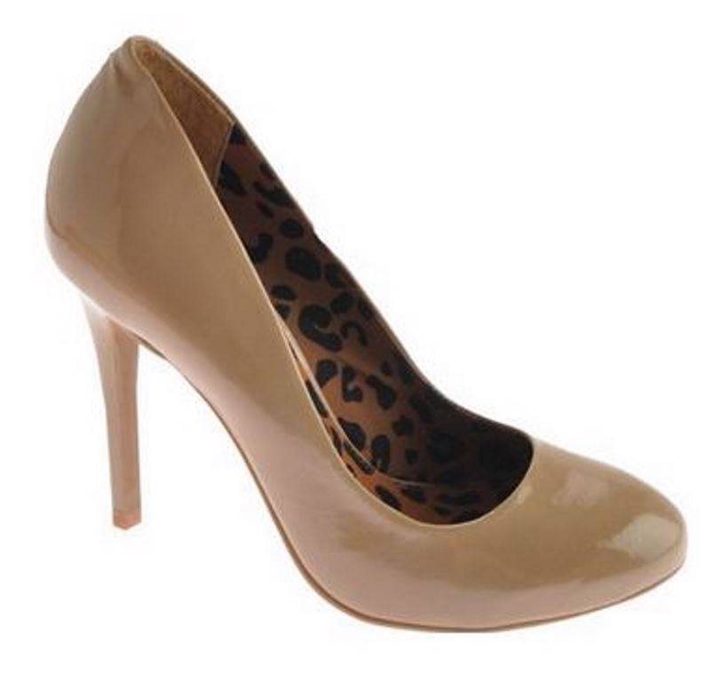 Womens-Shoes-Jessica-Simpson-SHIRLEY-Classic-Pumps-Heels-Nude-Patent