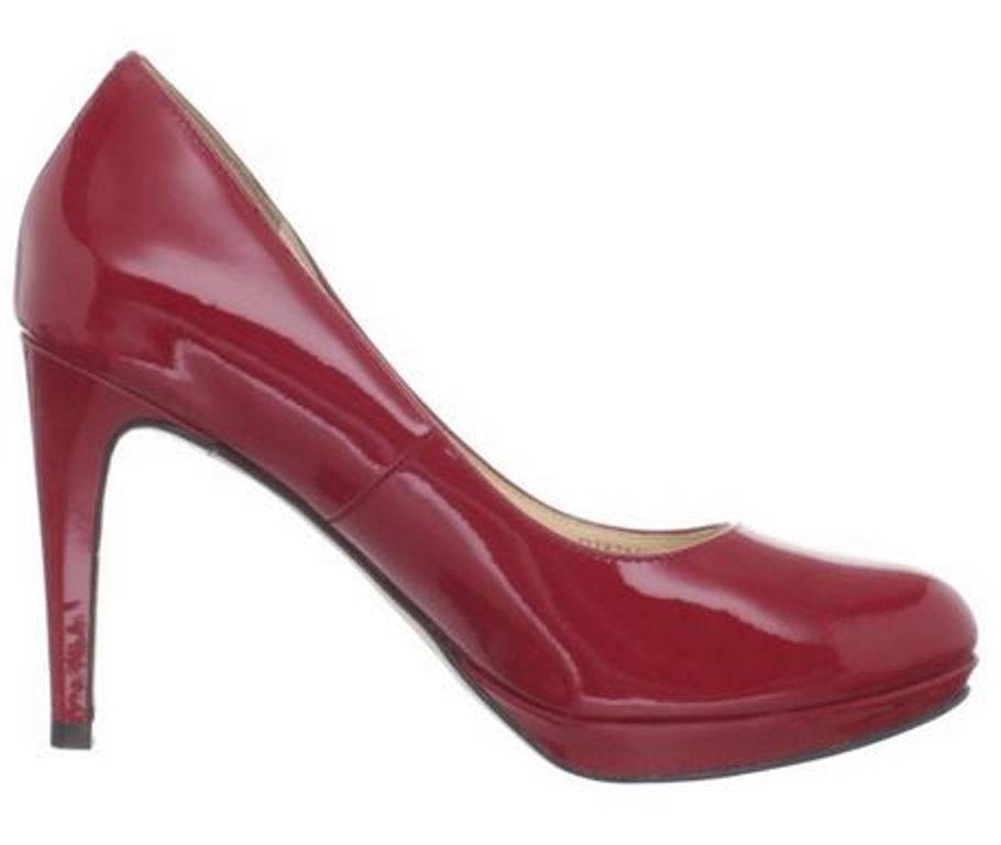 WOMEN'S COLE HAAN + NIKE GRAY PATENT LEATHER PUMPS SHOES | SIZE 7B