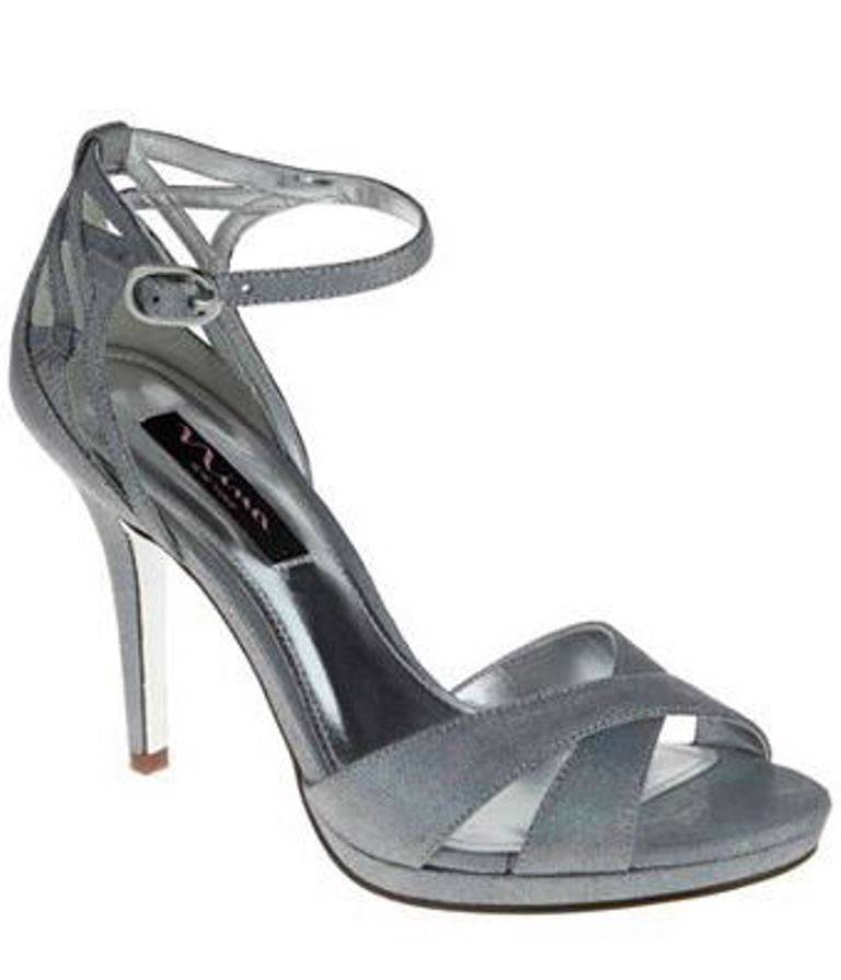 Perfect Women39s Silver Dress Shoe Sparkling Evening Sandals From Sears