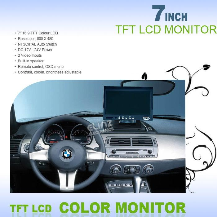 M70 Reversing camera kit monitor specifications