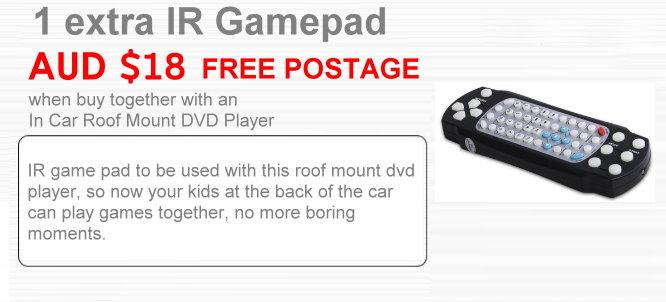 add on  IR Game Pad
