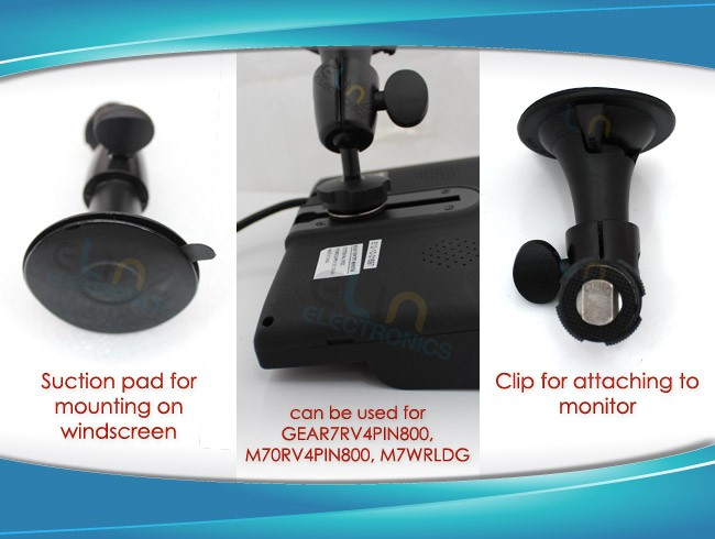 product views for windscreen mount
