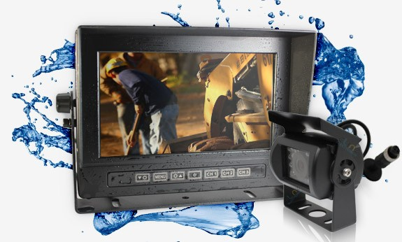 Waterproof 7 inch Monitor Reversing Camera Kit