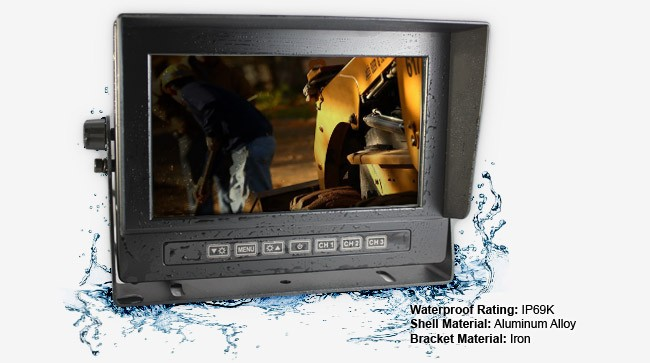 Reverse camera system monitor specifications W7RVPRF