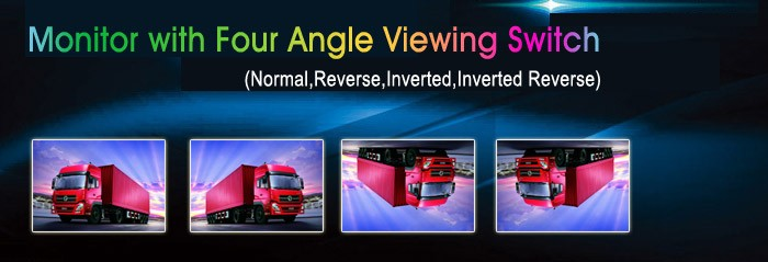 GEAR7 angle viewing image reverse camera
