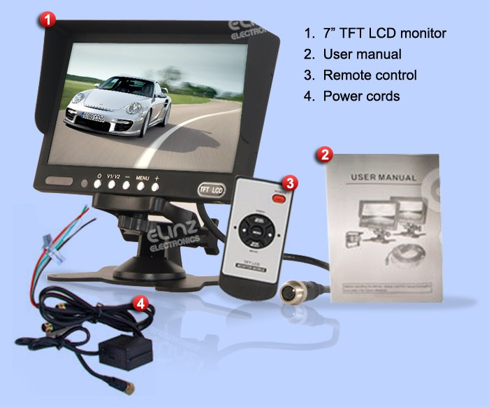 M70 Car reversing cameras accessories