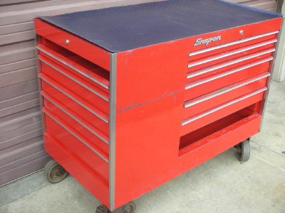 snap on 13 drawer 50 quot tool box storage rolling wheel