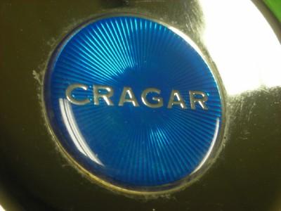 4 3 8 Cragar Chrome Directional Wheel Truck Center Cap