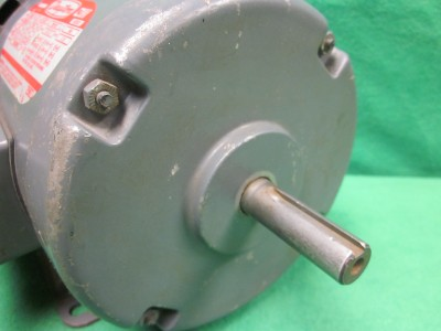 Dayton 3n442d Electric Ac Induction Motor 1 2 Hp 3 Phase